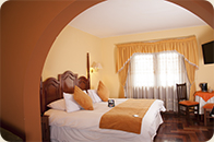 EL Virrey Boutique Cusco Hotels suite room