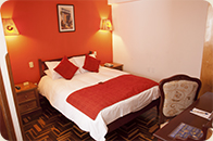 EL Virrey Boutique Cusco Hotels matrimonial room