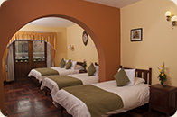 EL Virrey Boutique Cusco Hotels triple room